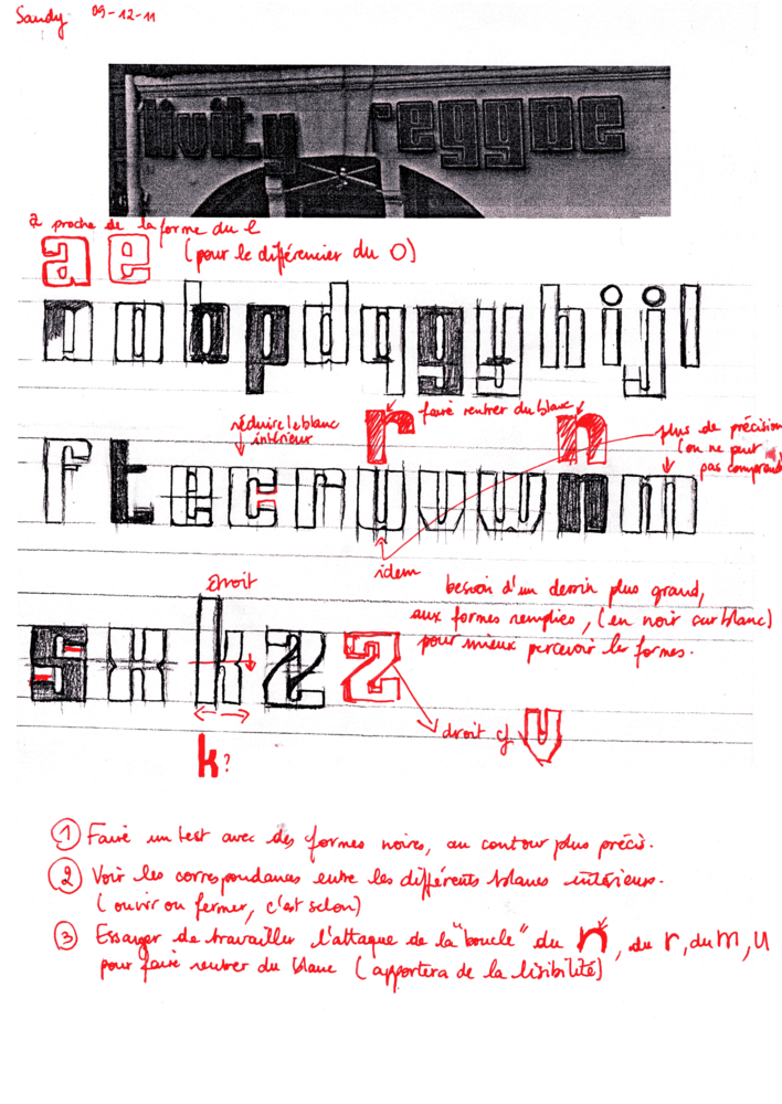 Corrections n°10, Sandy et Margot - par Sarah